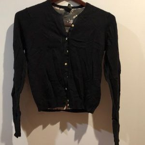 Lucky brand black cardigan